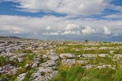 El Burren Foto de archivo libre de regalías