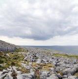 El Burren cerca de Derreen, Eire del oeste Foto de archivo libre de regalías