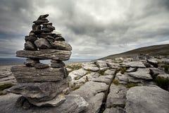 El Burren irlandés Foto de archivo libre de regalías