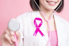 El cáncer de pecho previene concepto imágenes de archivo libres de regalías