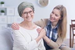 ¡El cáncer no me batirá! foto de archivo libre de regalías