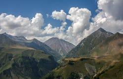 El Cáucaso en Georgia Imagen de archivo