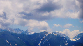 El Cáucaso que sorprende Foto de archivo