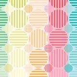El círculo colorea el fondo Imagen de archivo
