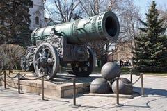 El cañón de Tsar Fotografía de archivo libre de regalías