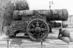 El cañón de Tsar en Kremlin Fotos de archivo libres de regalías