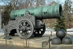 El cañón del zar, el Kremlin, Moscú, Rusia Foto de archivo libre de regalías