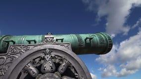 El cañón del zar, Moscú el Kremlin, Rusia metrajes
