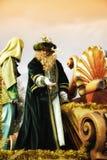El Cabalgata los Reyes Magos Imagenes de archivo