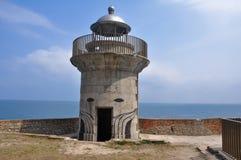 El Caballo lighthouse, Cantabria (Spain). El Caballo lighthouse, Cantabria in Spain royalty free stock image