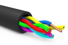 El cable ilustración del vector
