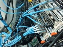 El cable LAN imagen de archivo libre de regalías