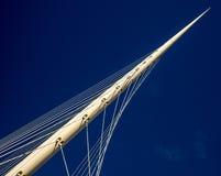 El cable permanecía el puente Fotos de archivo