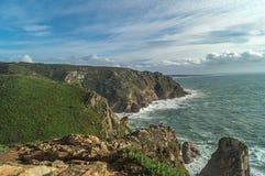 El Cabo DA Roca, Portugal, Europa imágenes de archivo libres de regalías