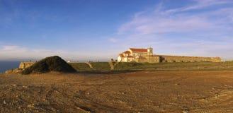 El cabo Espichel, Senhora hace Cabo Imagen de archivo libre de regalías