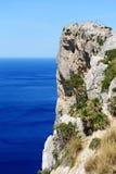 El cabo Formentor en Mallorca Imágenes de archivo libres de regalías