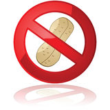 El cacahuete libera Imágenes de archivo libres de regalías