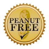 El cacahuete libera el sello Imagen de archivo libre de regalías