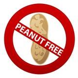 El cacahuete libera símbolo Foto de archivo libre de regalías