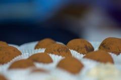 el cacao asperja bolas imagen de archivo