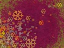 El caer de la nieve de la Navidad Imagen de archivo libre de regalías