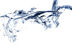 El caer de la secuencia del agua Imagen de archivo libre de regalías