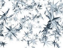 El caer de las estrellas Imagen de archivo libre de regalías