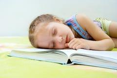 El caer dormido Fotografía de archivo libre de regalías
