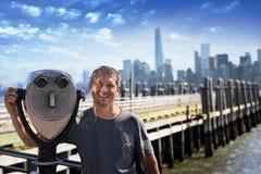 El caer en amor con Nueva York imagen de archivo libre de regalías