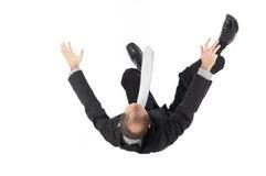 El caer, hombre de negocios Foto de archivo