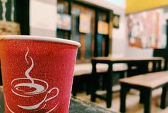 El café imagen de archivo libre de regalías
