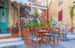 El café al aire libre Foto de archivo