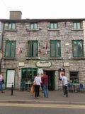 El café de Finnegan en Galway Fotografía de archivo
