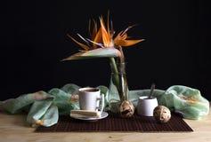 El café de la mañana Foto de archivo