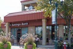 El café de Starbucks es una cadena americana de cafeterías, fundada en Seattle fotografía de archivo libre de regalías