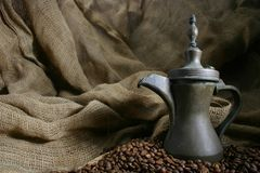 El café diseñó 5 Imagen de archivo libre de regalías