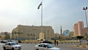 El Cairo ocupado, Egipto almacen de video