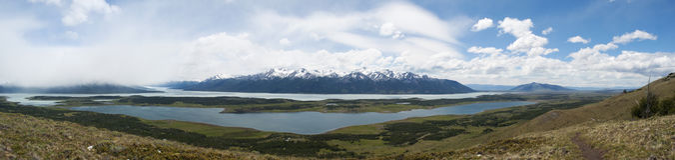 EL Calafate, εθνικό πάρκο παγετώνων, Παταγωνία, Αργεντινή, Νότια Αμερική Στοκ Φωτογραφίες