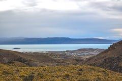 EL CALAFATE, ARGENTINA: argentinian patagonia Royaltyfri Foto