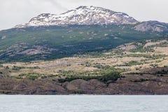 EL Calafate Argentina do lago Argentino Imagem de Stock Royalty Free