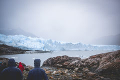EL CALAFATE, ARGENTINA: Geleira de Perito Moreno, EL Calafate, Argentina 2015 Imagens de Stock