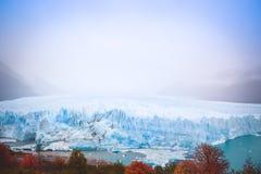 EL CALAFATE, ARGENTINA: Ghiacciaio di Perito Moreno, EL Calafate, Argentina 2015 Fotografie Stock