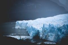 EL CALAFATE, ARGENTINA: Perito Moreno glaciär, El Calafate, Argentina 2015 Arkivfoton