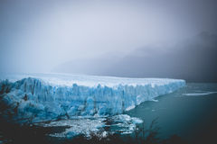 EL CALAFATE, ARGENTINA: Perito Moreno glaciär, El Calafate, Argentina 2015 Arkivfoto