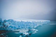 EL CALAFATE, ARGENTINA: Perito Moreno glaciär, El Calafate, Argentina 2015 Royaltyfri Foto