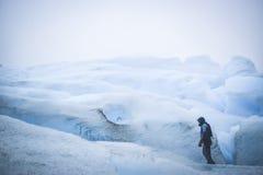 EL CALAFATE, ARGENTINA: Perito Moreno glaciär, El Calafate, Argentina 2015 Royaltyfri Bild
