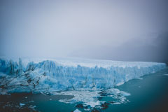 EL CALAFATE, ARGENTINA: Perito Moreno glacier, El Calafate, Argentina 2015. EL CALAFATE, ARGENTINA: Perito Moreno glacier, El Calafate, Argentina Stock Photography