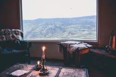 EL CALAFATE, ARGENTINA: sikt på argentinian patagonia Royaltyfri Bild