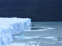 El Calafate Glaciers. Perito Moreno glaciers in El Calafate in Argentina royalty free stock photo