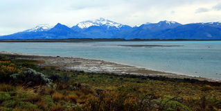El Calafate, Lake Argentino royalty free stock photos